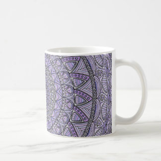 Purple and Blue Mandala Coffee Mug