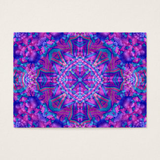 Purple And Blue Pattern Business Cards many styles