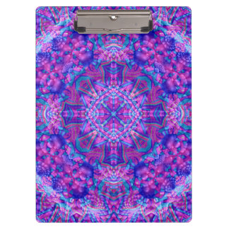 Purple And Blue Pattern    Clipboard
