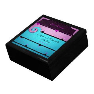 Purple and Blue Wedding Gift Box
