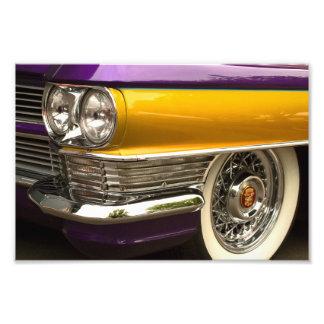 Purple And Gold Art Photo