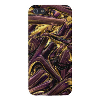 purple and gold iPhone 5 covers