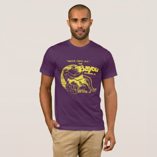 "Purple and Gold ""The Bayou"" vintage style tee! T-Shirt"