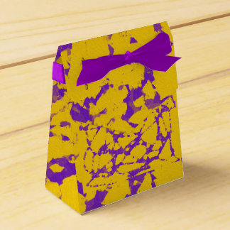 Purple and Gold Tie Dye Favour Box