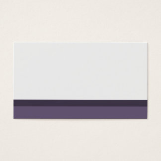 Purple and gray Place Cards