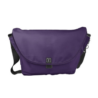 Purple and Green Abstract Composition Gradation Courier Bags