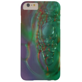 Purple and Green bubbles Barely There iPhone 6 Plus Case