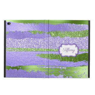 Purple and Green Glitz iPad Air 2 Case