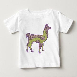 Purple and Green Llama shirt