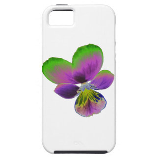 Purple and Green Pansy iPhone 5 Case