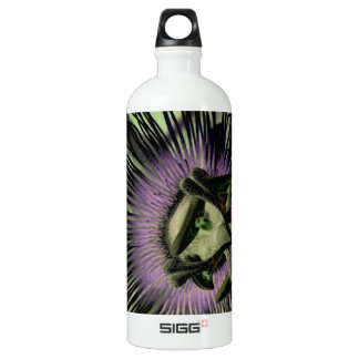 Purple and Green Passion Flower Bloom SIGG Traveller 1.0L Water Bottle