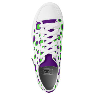 [Purple and Green] Polkadots Sneakers