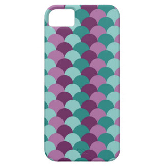 Purple and Green Scales Pattern Case For The iPhone 5