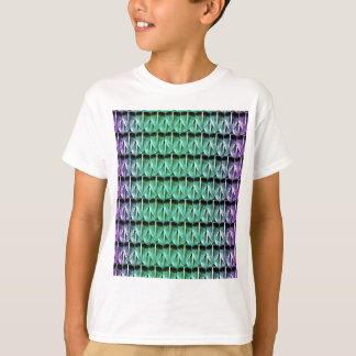 Purple and Green Scales T-Shirt