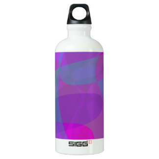 Purple and Green SIGG Traveller 0.6L Water Bottle