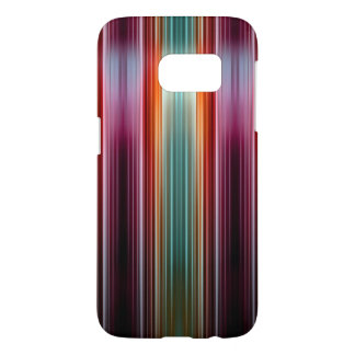 Purple and green striped pattern