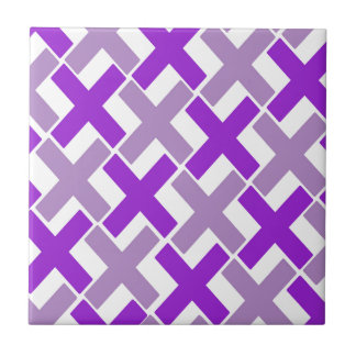 Purple and Lavender Xs Tile