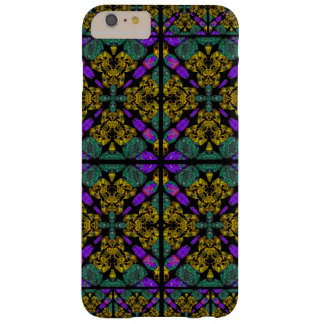 Purple And Mauve Motif Barely There iPhone 6 Plus Case