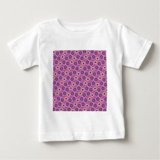 Purple and Orange Floral Pattern Gifts T Shirts