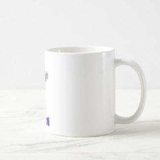 Purple and orange football player mugs