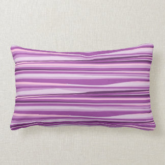 Purple and Pink Abstract Throw Pillows
