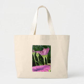Purple And Pink Daisy Flower in Full Bloom Jumbo Tote Bag