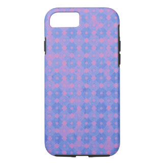 Purple and Pink Diamonds Abstract Pattern iPhone 7 Case