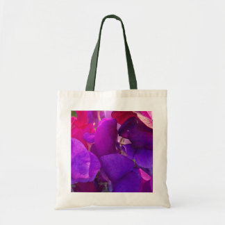 Purple and Pink Giant Sweet Peas Tote Bag