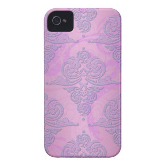 Purple and Pink Grunge Victorian Floral Damask Blackberry Cases