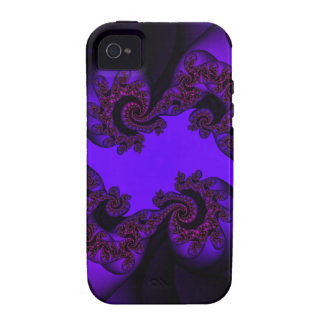 purple and pink paisley vibe iPhone 4 cases