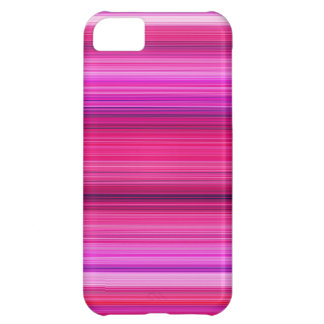 Purple and Pink Stripes iPhone 5C Case