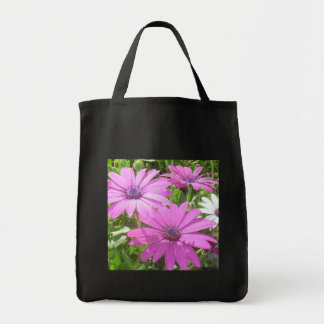 Purple And Pink Tropical Daisy Flower Bags