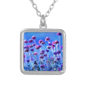 Purple and Pink Wildflowers Custom Jewelry