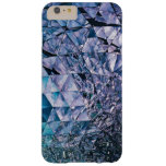 Purple and turquoise, TRIANGLE and reflections Barely There iPhone 6 Plus Case