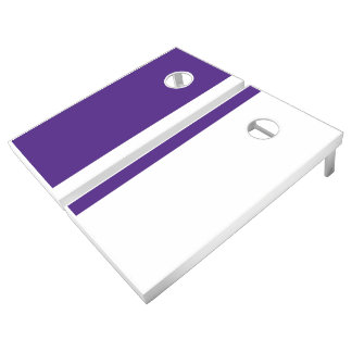 Purple and White Add Your Logo