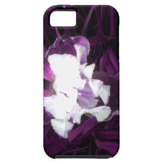 Purple and White Iris iPhone 5/5S Case