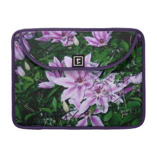 Purple and White Macbook Pro Sleeve