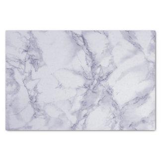 Purple and White Marble Design Tissue Paper
