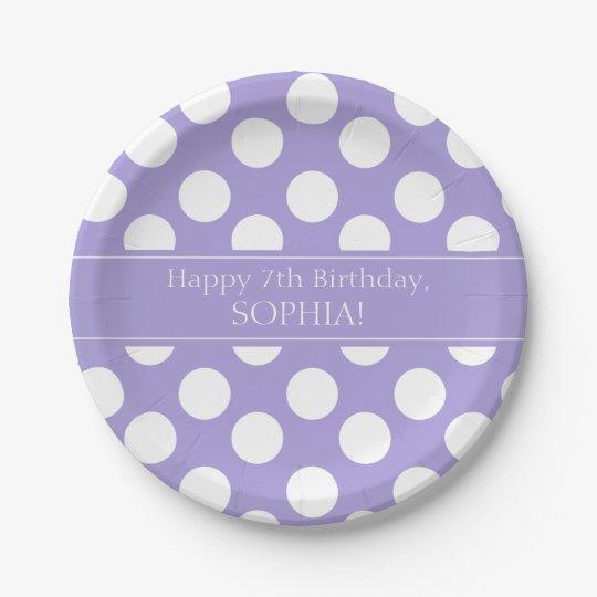 Purple and White Polka Dot Paper Plates  sc 1 st  Zazzle & Purple And Gold Plates | Zazzle.co.uk