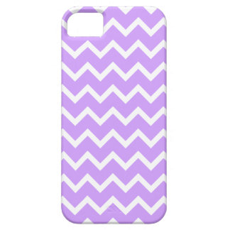 Purple and White Zigzag Stripes. Case For The iPhone 5