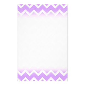 Purple and White Zigzag Stripes. Flyer