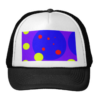 Purple and yellow design by Moma Cap