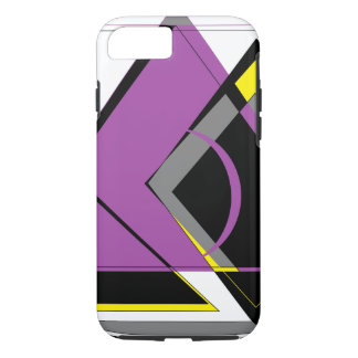 Purple and Yellow iPhone 7 Case