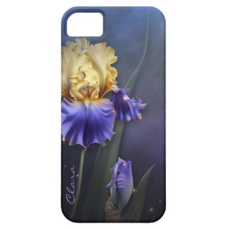Purple and Yellow Iris Custom iPhone 5S Case Case For The iPhone 5
