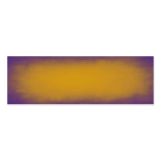 Purple and Yellow Texture Pack Of Skinny Business Cards