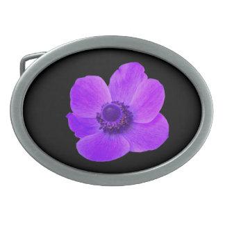 Purple Anemone Belt Buckle