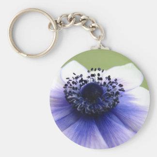 Purple Anemone Key Chain