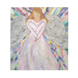 Purple Angel Notepad
