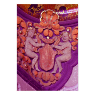 purple angels atc aceo business card