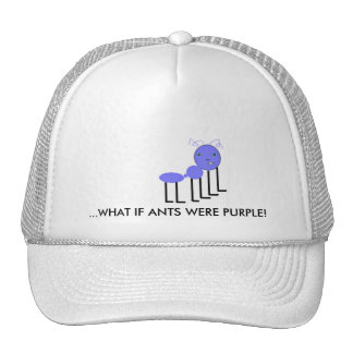 Purple Ant Hat